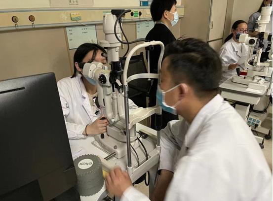 眼科住培基地顺利完成住院医师执业能力模拟考核
