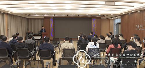 医院组织部分专家到大学医学科技创新中心参观交流