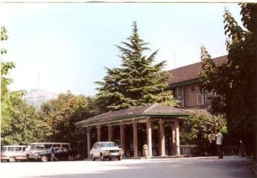 The main building of the hospital in 1960 ward building
