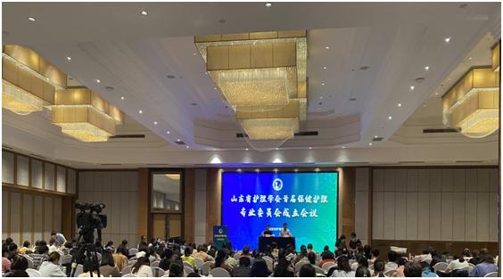 山东省护理学会保健护理专委会成立,韩梅当选首届主任委员